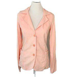 James Perse Jacket Blazer Pink Corduroy button 2